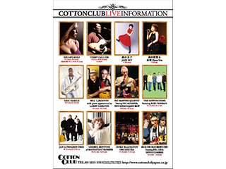 COTTON CLUB LIVE FLYER