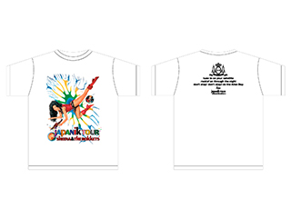 SHEENA & THE ROKKETS  30th ANNIVERSARY / JAPANIK TOUR 2008 T-shirts
