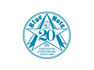 Blue Note 20周年記念ロゴ